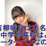 女優の吉柳咲良はピーターパンで弟もイケメン!?竹内涼真との関係は?